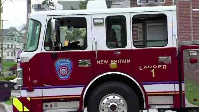 The New Britain fire chief is expected to retire next month (WFSB)