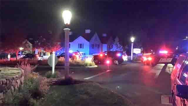 Emergency crews were called to an apartment complex in Berlin on Tuesday night (WFSB)