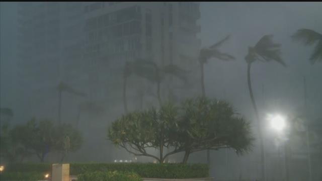 Hurricane Maria hits San Juan, Puerto Rico