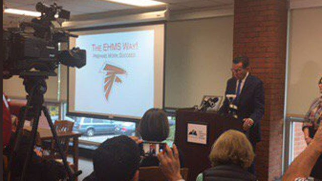 Gov. Dannel Malloy and the Democrats said the GOP budget cuts funding for struggling schools. (WFSB)