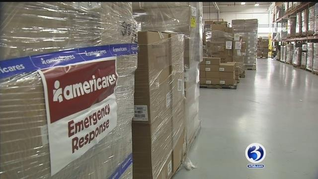 Americares is continuing its hurricane relief efforts for those in need (WFSB)