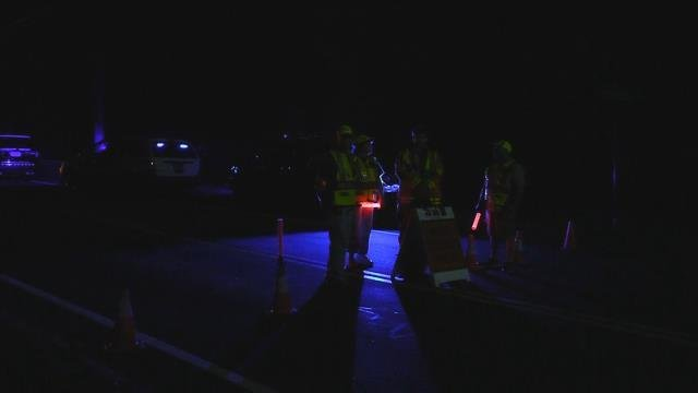 A serious motorcycle crash was reported in Vernon on Thursday night (WFSB)