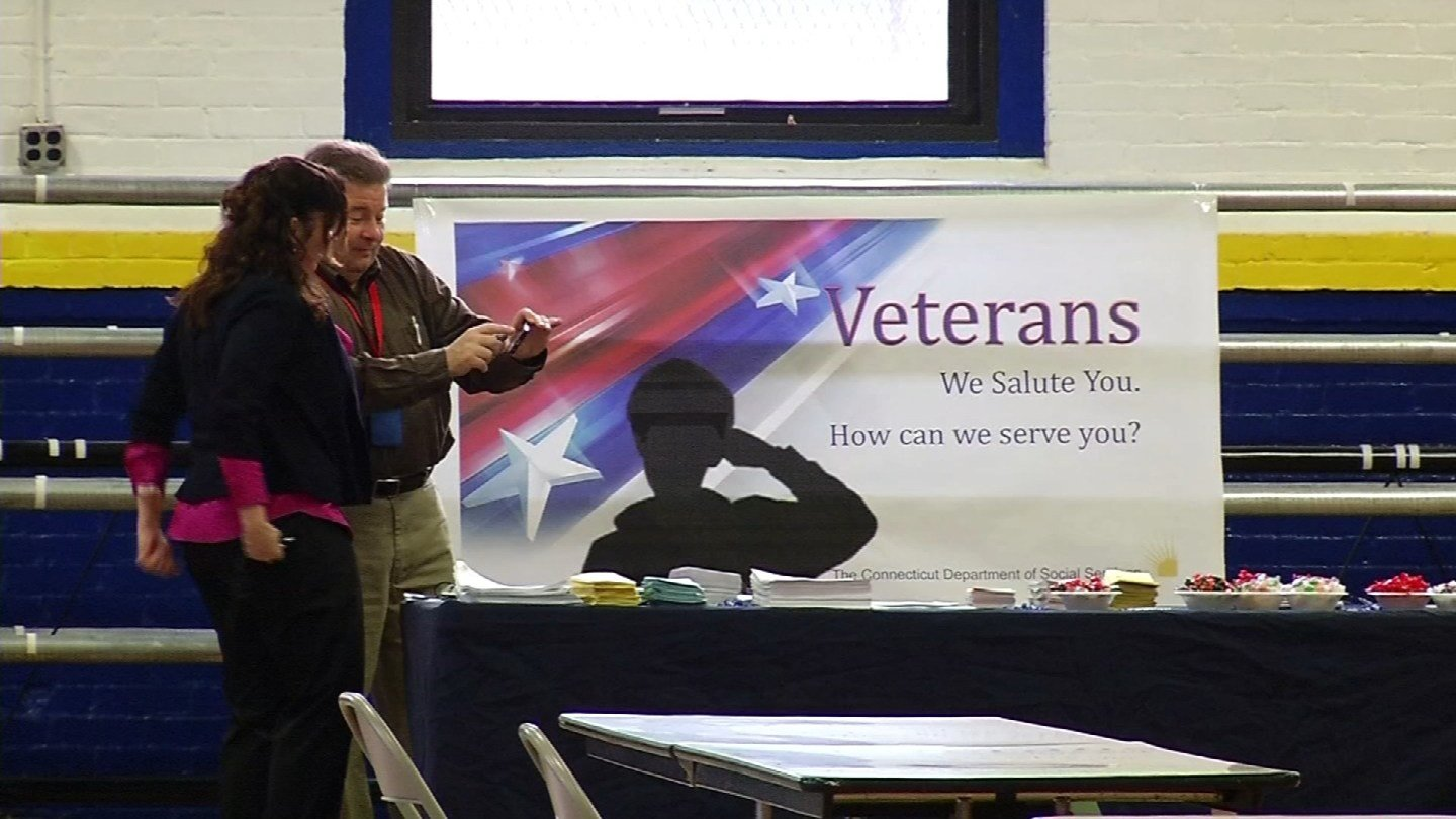 'Stand Down' is an event that helps veterans. (WFSB file)