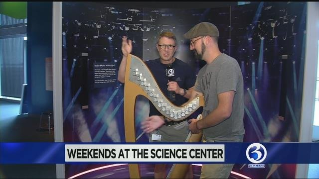 Weekends at the Science Center: Sight and Sound Gallery