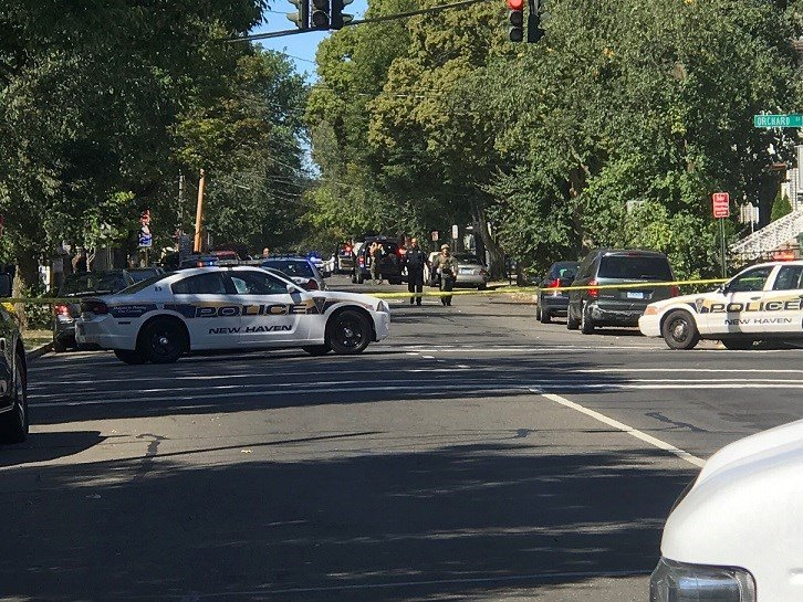 Officers Including 1 Woman Shot in New Haven, Suspect Arrested