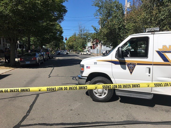 Two officers shot during incident in New Haven
