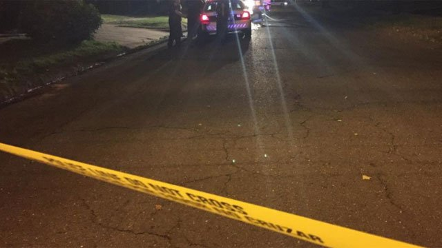 Hartford Police are investigating a double shooting on Durham Street. (WFSB Photo)