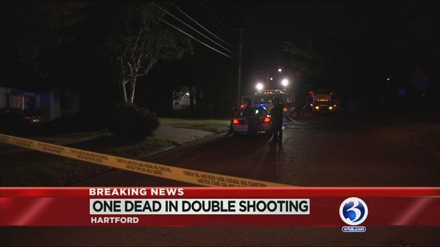 One dead, another injured after double shooting in Hartford