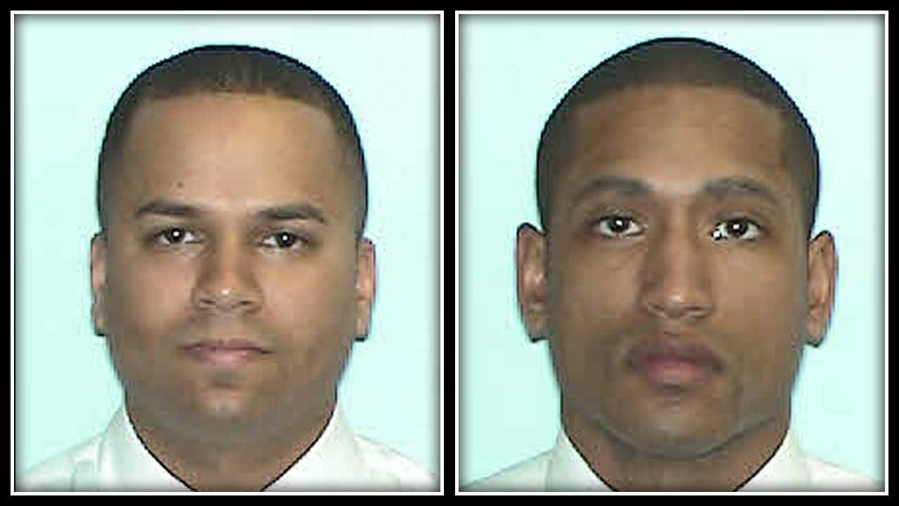Xavier Cruz and Rupert Laird were terminated this week after being arrested in February. (Wethersfield Police Department)