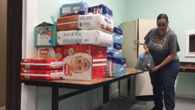 Churches, city workers, and even school students are stepping up as the Elm City helps Puerto Rico after Hurricane Maria. (WFSB)