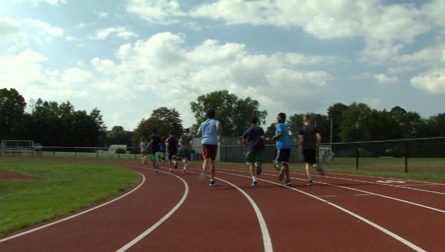 Fall sports are being impacted by the summer-like heat (WFSB)