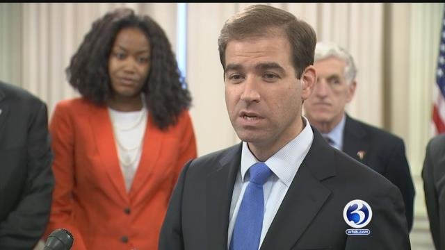 Hartford Mayor Luke Bronin. (WFSB file)