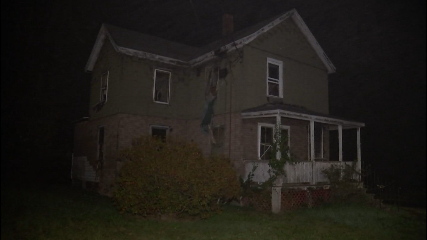 Firefighters fought a fire on Gilbert Avenue in Bloomfield overnight. (WFSB)