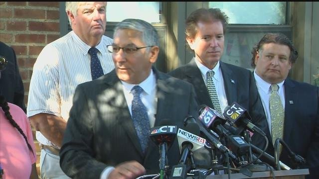 Republican Sen. Len Fasano discusses lawmakers' latest meeting with the governor about the budget. (WFSB)