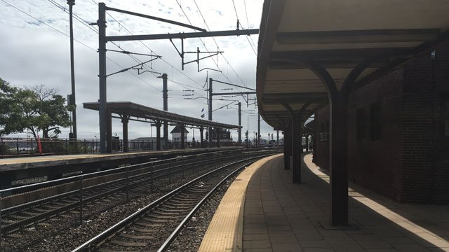 "Service for Shoreline East was ""suspended indefinitely"" in both directions from New London to New Haven. (WFSB)"