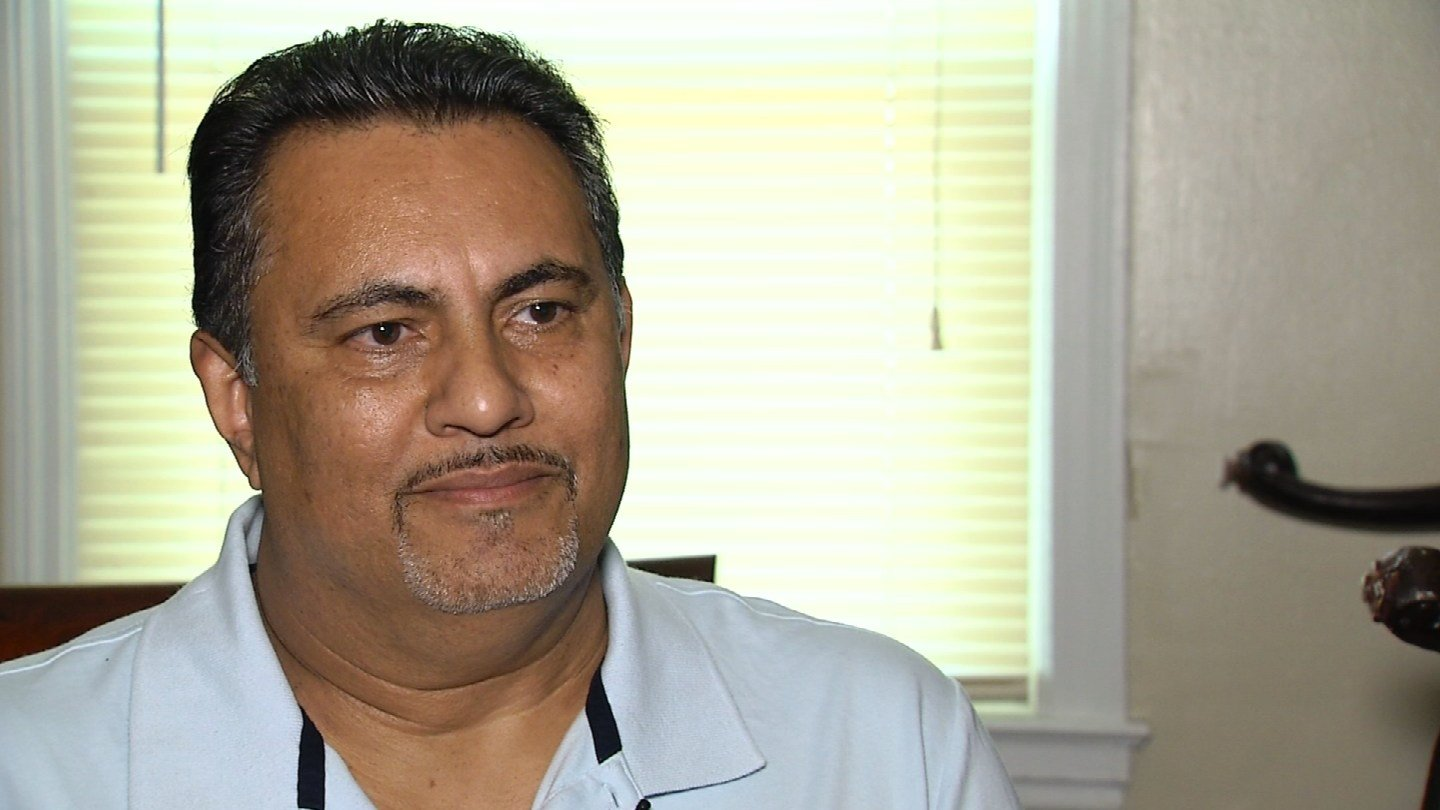 Jose Nazario is trying to reach his family in Puerto Rico (WFSB)
