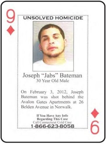 Joseph 'Jabs' Bateman was shot to death in Norwalk on Feb. 3, 2012. (Dept. of Corrections)