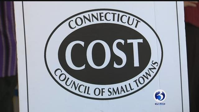 President of Connecticut's Council of Small Towns spent Thursday with Channel 3 news. (WFSB)