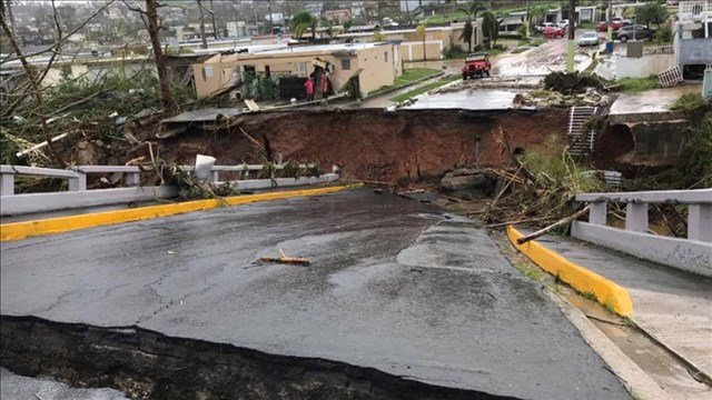 Damage in Puerto Rico from Hurricane Maria. (MGN)