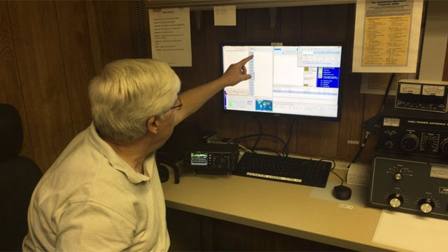 Local amateur radio operators are lending a hand to connect those in Puerto Rico with loved ones in Connecticut. (WFSB)