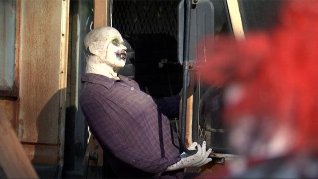 The Trail of Terror opens Saturday for Halloween season. (WFSB)