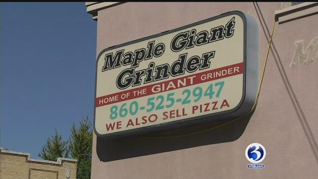Maple Giant Grinders is leaving the South End of Hartford. (WFSB)