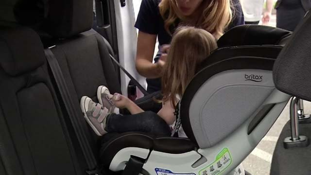 Stricter car seat regulations went into effect on Sunday (WFSB)
