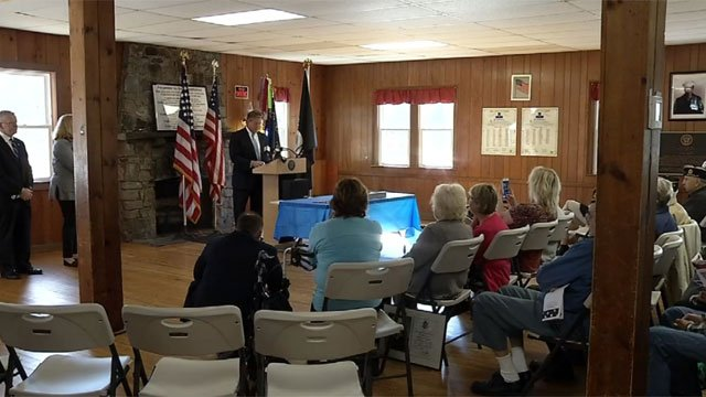 Veterans were honored at the Connecticut Wartime Service Medal Ceremony on Tuesday morning. (WFSB)