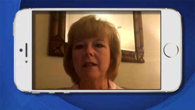Channel 3 did a FaceTime interview with a CT nurse who has been vacationing in Las Vegas (WFSB)