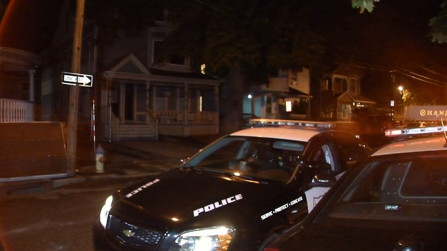 Four people were hurt in a fire on Mitchell Avenue on Wednesday morning. (WFSB)
