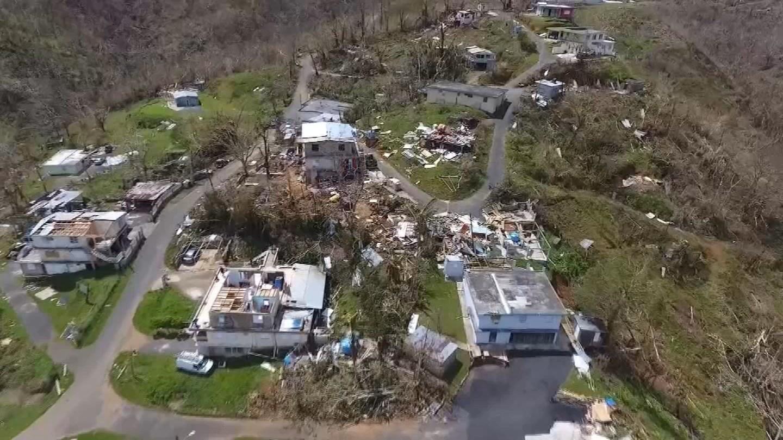 Puerto Rico was devastated by Hurricane Maria last month. (CBS)