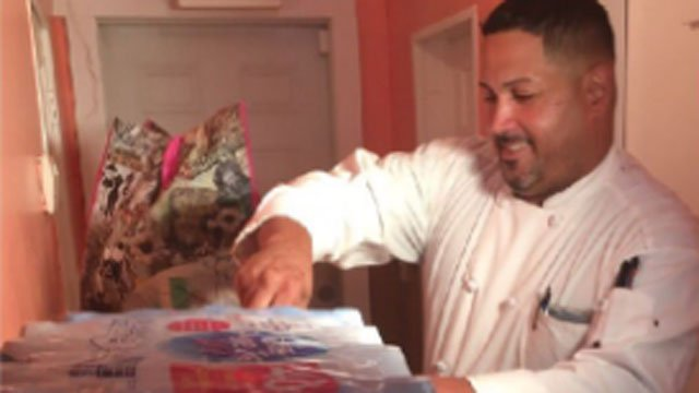 A Wallingford chef is using his restaurant & his cooking skills to collect donations for Puerto Rico following Maria. (WFSB)