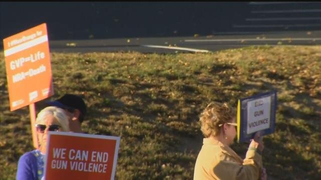 A local group created after an elementary school shooting in Sandy Hook is demanding Congress come up with tighter gun laws. (WFSB)