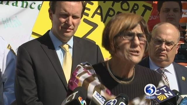 U.S. Rep. Rosa DeLauro is urging Congress to pass her bill to establish national paid family and medical leave. (WFSB file photo)