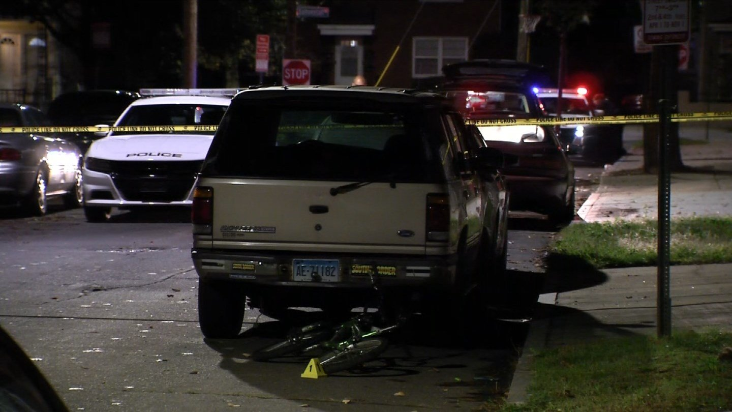A person was shot on Richard Street in New Haven overnight. (WFSB)