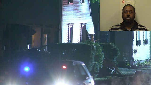 A car slammed into a home on North Main Street in Thomaston early Tuesday morning. (WFSB/Thomaston Police Department )