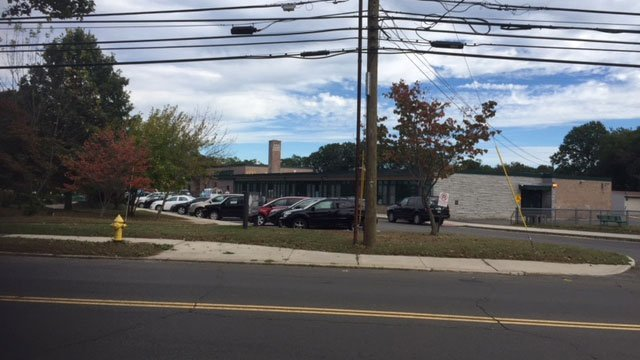 Live Oaks School on Merwin Avenue was evacuated on Tuesday afternoon. (WFSB)
