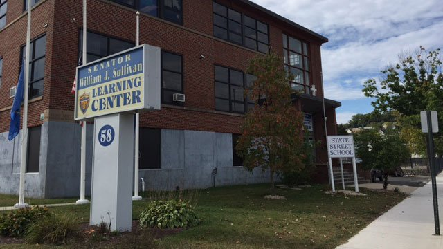 A 14-year-old student attacked two teachers at State Street School in Waterbury. (WFSB)