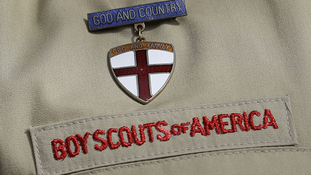 Boy Scouts has decided to expand girls' participation in their organization. (AP Image)
