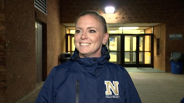 Head Field Hockey coach, Veronica Underwood-Grubin (WFSB)