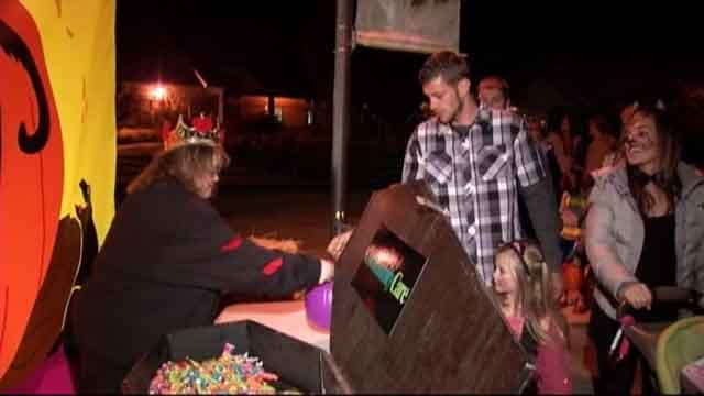 Some radio hosts are looking to add a 'trick or treat' day (WFSB)