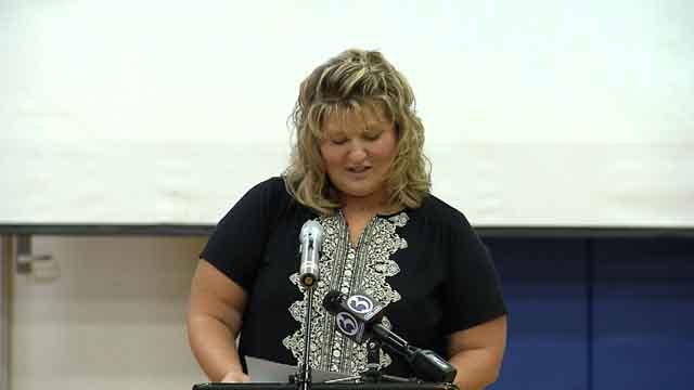 Mrs. Karen Mylly was selected as Connecticut's Paraeducator of the Year 2018.(WFSB)