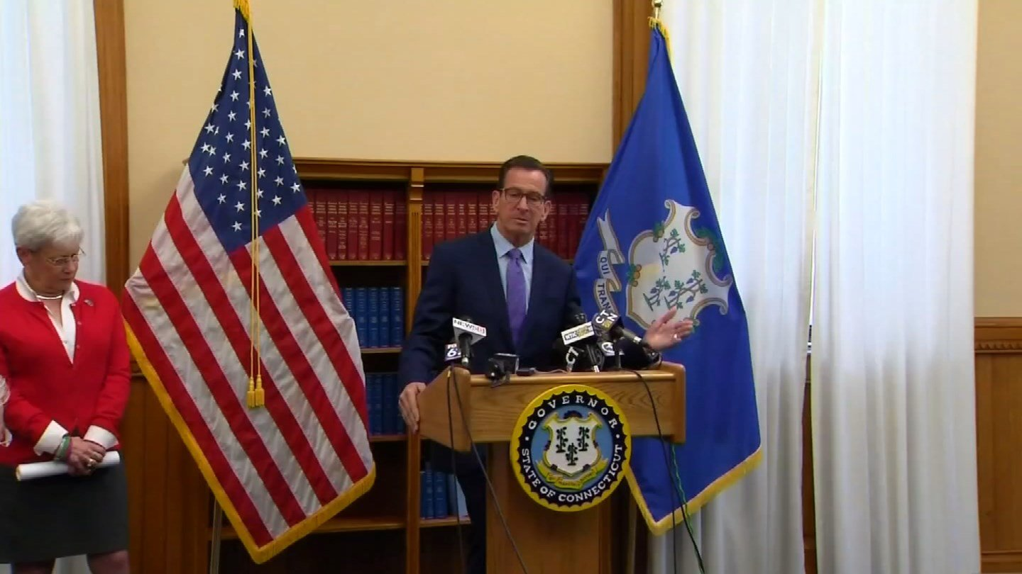Gov. Dannel Malloy released his fourth full budget proposal on Monday. (WFSB)