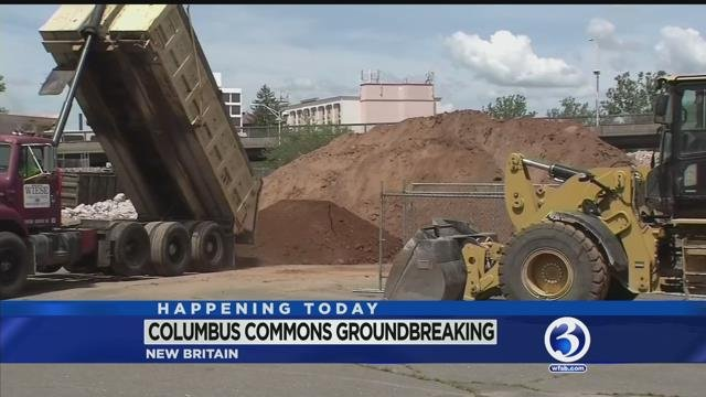 VIDEO: Major revitalization project to break ground in New Britain today