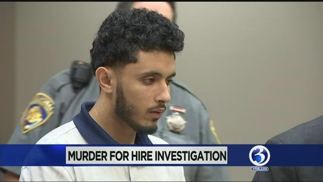 Video: Man arrested in murder for hire case in New Britain