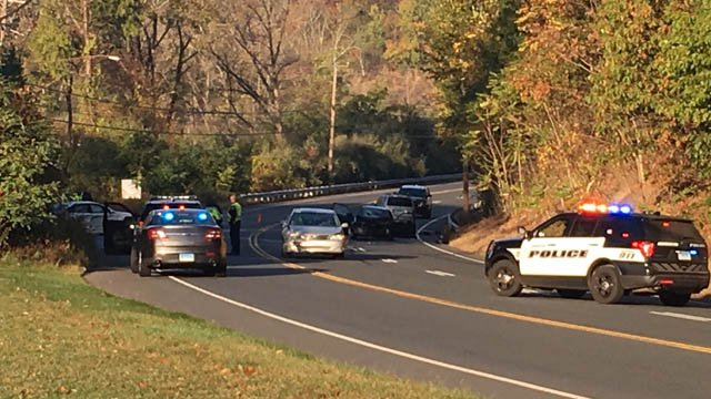 Five people were hurt in a serious crash on Route 6 in Farmington. (WFSB)