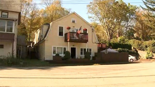 A house fire was reported in Montville on Thursday morning. (WFSB)