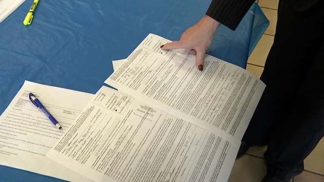 There are allegations of forgery over absentee ballots in West Haven that have surfaced. (WFSB)