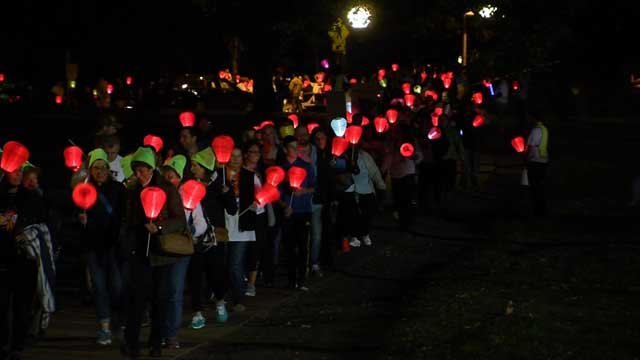 Thousands attended the event on Thursday evening (WFSB)