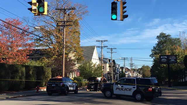 The owner of a service shop was struck on North Main Street in Norwich, according to eyewitnesses. (WFSB)